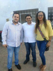 Foto: Dr. Iran, Berg ribeiro e Eva